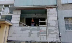 дограма и изграждане на тераси